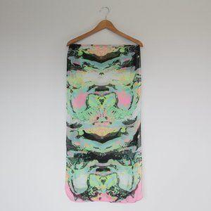 H&M Multi-colour Kaleidoscopic Rectangular Scarf